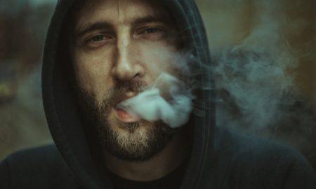 kouření elektronické cigarety
